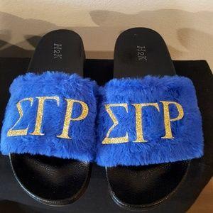 e4cb899e9b7e Shoes - Sigma Gamma Rho SGRho sorority slippers